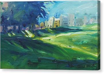 Dolores Park Canvas Print