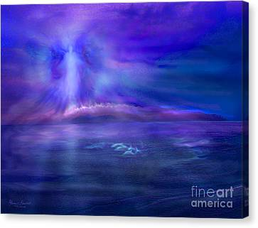 Dolphin Dreaming Canvas Print