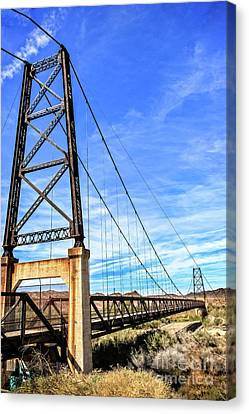 Canvas Print featuring the photograph Dome Bridge by Robert Bales