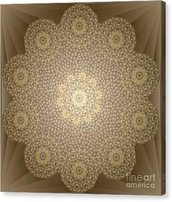 Dome Ceiling Decoration No,195 Canvas Print