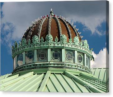 Dome On The Asbury Park Casino Canvas Print