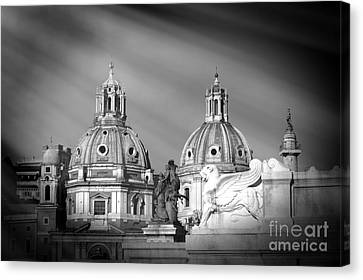 Domes Canvas Print by Stefano Senise