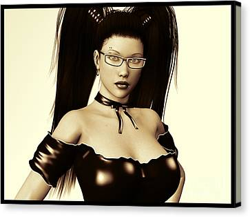 Dominate Me Canvas Print by Alexander Butler