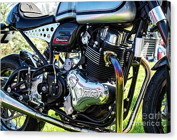 Canvas Print featuring the photograph Dominator Style by Tim Gainey