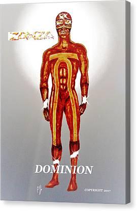 Dominion Canvas Print by Benny Jones Jr