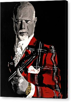 Don Cherry Canvas Print by Carly Jaye Smith
