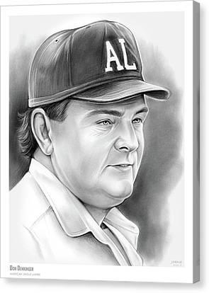 American League Canvas Print - Don Denkinger by Greg Joens
