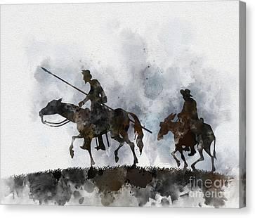 Don Quixote Canvas Print by Rebecca Jenkins