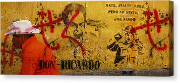 Don-ricardo Canvas Print by Skip Hunt