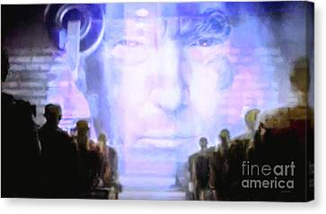 Potus Canvas Print - Donald Trump 1984 by Wingsdomain Art and Photography