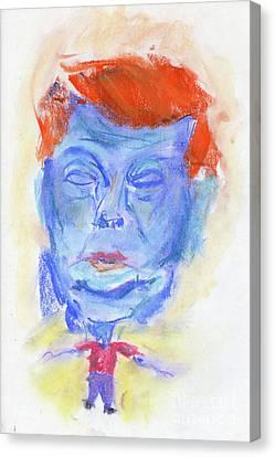 Donald Trump Ccf Canvas Print by Edward Fielding