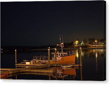 Canvas Print featuring the photograph Done Fishing by Greg DeBeck