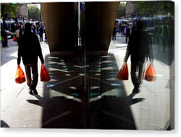 Done The Shopping Canvas Print by Jez C Self