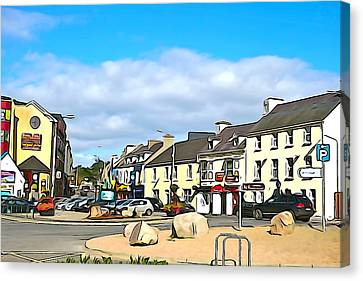 Donegal Town Canvas Print by Charlie and Norma Brock