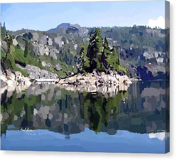 Donnell Island Canvas Print