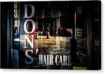 Don's Reflections  Canvas Print by Phillip Burrow