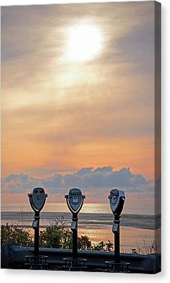 Chatham Canvas Print - Don't Look Directly Into The Sun Chatham Ma Cape Cod Trio by Toby McGuire