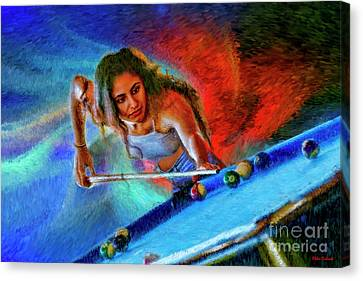Don't Need The Cue Ball   Canvas Print by Blake Richards