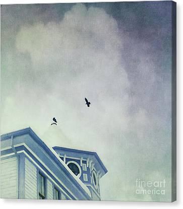Don't Wait Around Canvas Print by Priska Wettstein