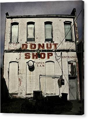 Donut Shop Canvas Print by Chris Berry