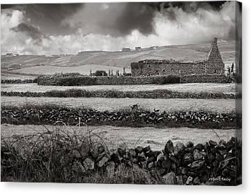 Doolan Fences Canvas Print by Robert Lacy