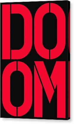 Doom Canvas Print by Three Dots