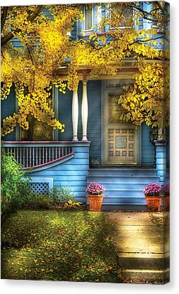Door - Gorgeous Victorian  Canvas Print by Mike Savad