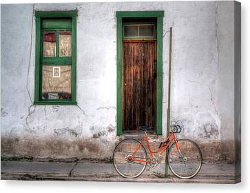 Canvas Print featuring the photograph Door 345 by Lynn Geoffroy