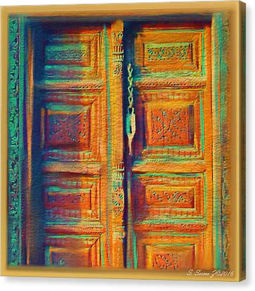 Door Ambiance Canvas Print