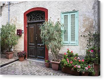 Door And Window Canvas Print