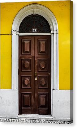 Door No 20 Canvas Print by Marco Oliveira