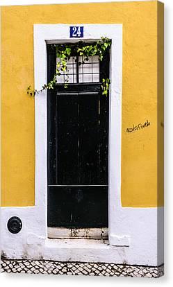 Door No 24 Canvas Print by Marco Oliveira