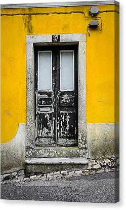 Door No 37 Canvas Print by Marco Oliveira