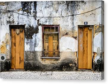 Door No 61 Canvas Print by Marco Oliveira