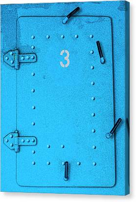 Canvas Print featuring the photograph Door Number 3 by Paul Wear