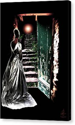 Canvas Print featuring the photograph Door Of Opportunity by Pennie  McCracken