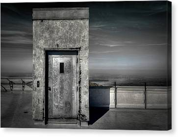 Door To Nowhere Canvas Print