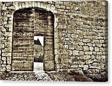 Door To Salvation Canvas Print by Paul Topp