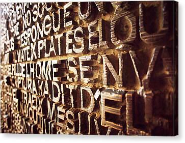 Door To The Sagrada4 Canvas Print by Vadim Goodwill