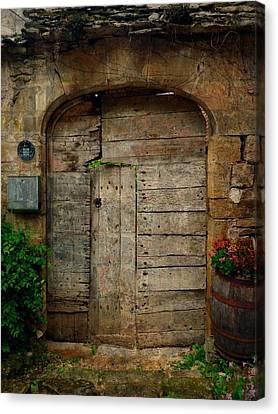 Door To The Secret Garden Canvas Print by Studio Yuki