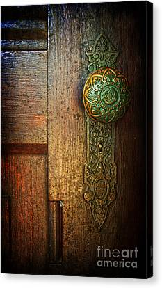 Doorknob Canvas Print