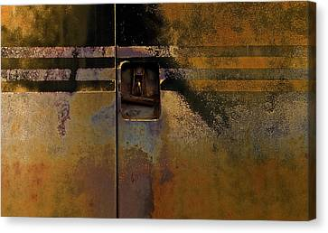 Doors And Stripes Canvas Print