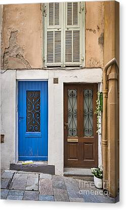 Doors And Window Canvas Print