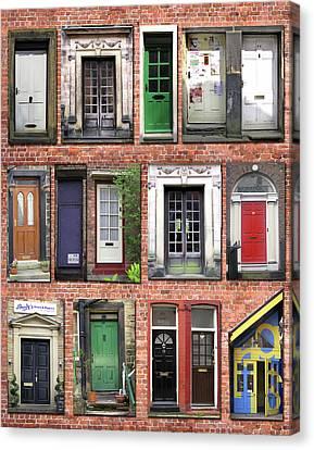 Doors Of England I Canvas Print