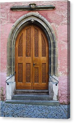 Doors Of Germany Canvas Print by Cecil Fuselier
