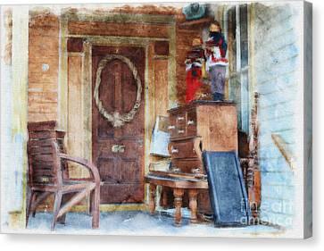 Doors Of St. Augustine # 2 Canvas Print