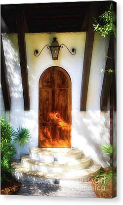 Doors Of The Florida Panhandle # 2 Canvas Print by Mel Steinhauer