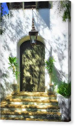 Canvas Print featuring the photograph Doors Of The Florida Panhandle by Mel Steinhauer