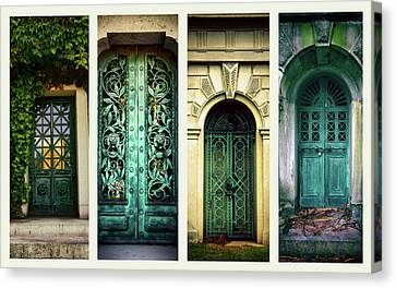 Doors Of Woodlawn Canvas Print by Jessica Jenney