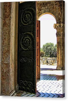 Doors To All Nations Canvas Print by Douglas Barnard